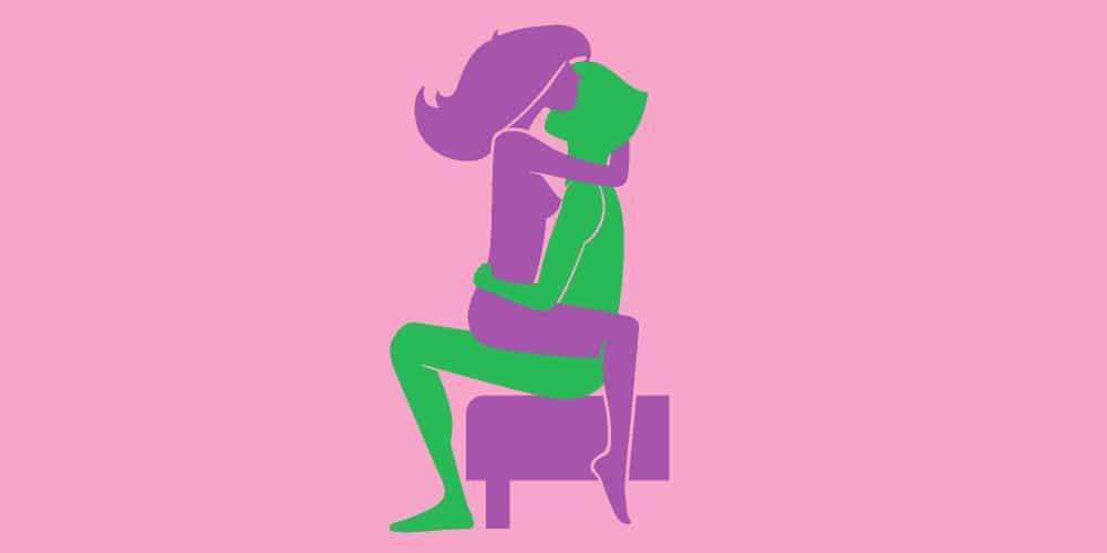 Illustration Position Kamasutra Amazone